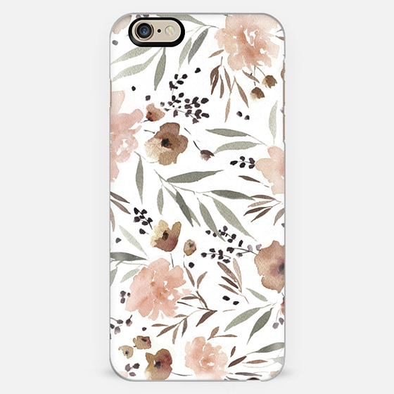 Spring Floral by Kelli Murray iPhone 6 case by kellimurray