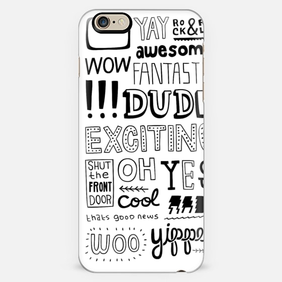 @casetify sets your Instagrams free! Get your customize Instagram phone case at casetify.com! #CustomCase Custom Phone Case | Casetify | Typography | Black & White | Painting  | Kyle Steed