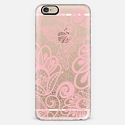 Flower Pink Lace