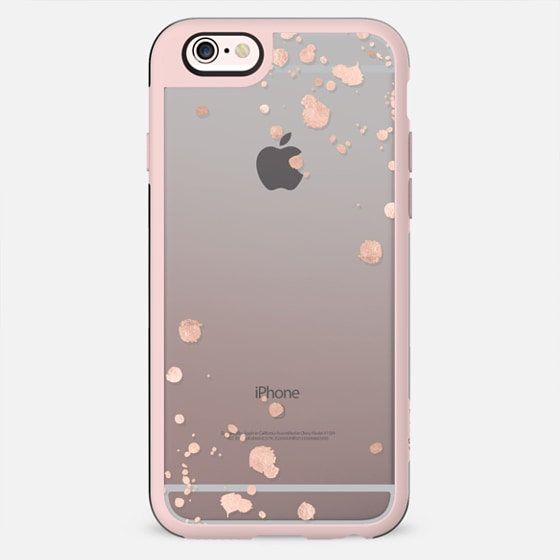 rose gold splats iphone 5s by monika strigel. Black Bedroom Furniture Sets. Home Design Ideas