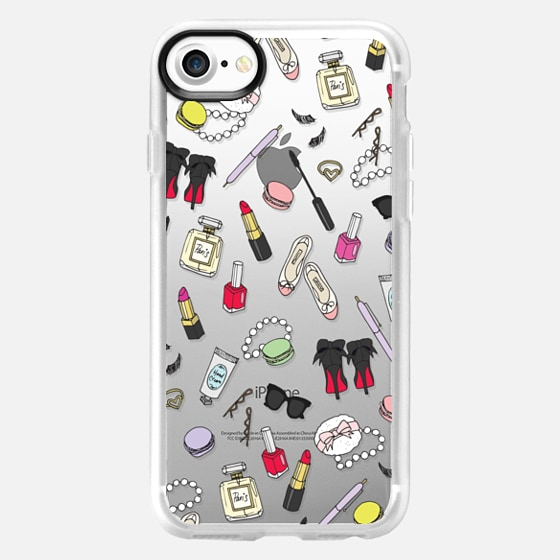 Girly Things Clear - Wallet Case