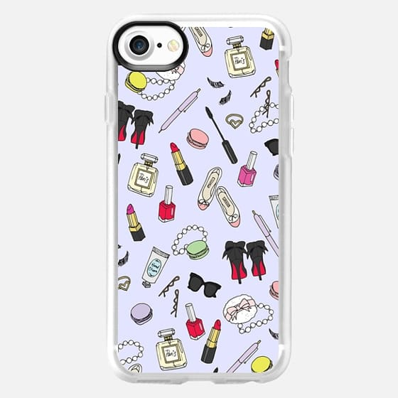 Girly Things Lilac - Snap Case