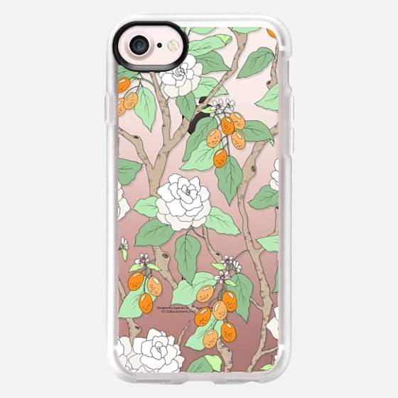 Gardenias and Kumquats - Classic Grip Case