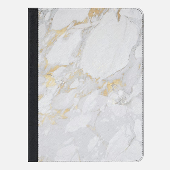 iPad Air 2 Hülle - Marble with gold