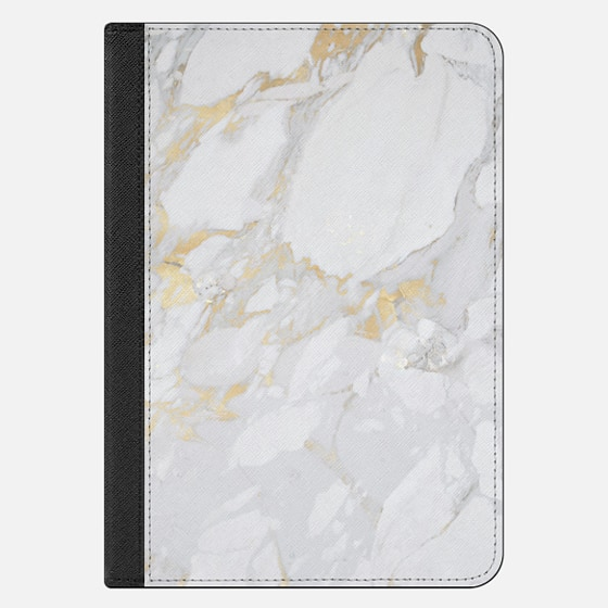 iPad Mini 4 Hülle - Marble with gold