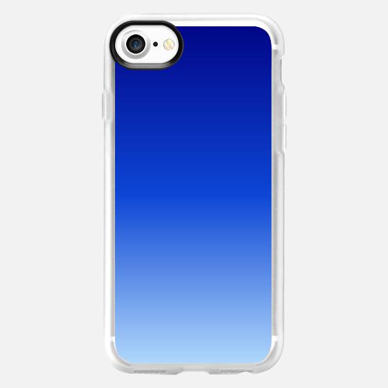 BLue Fade - Wallet Case