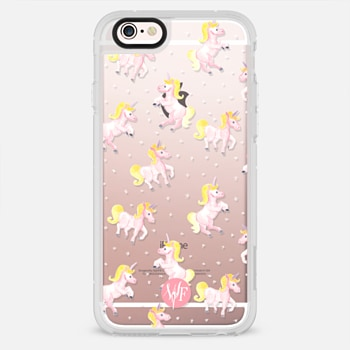 iPhone 6s เคส Magical Unicorns Transparent Case by Wonder Forest
