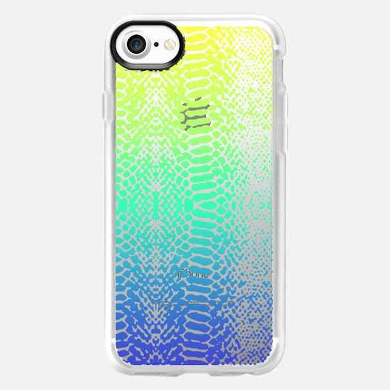 colourful summer snake -