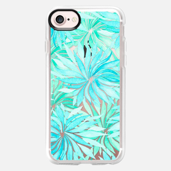 Turquoise spring time - Wallet Case