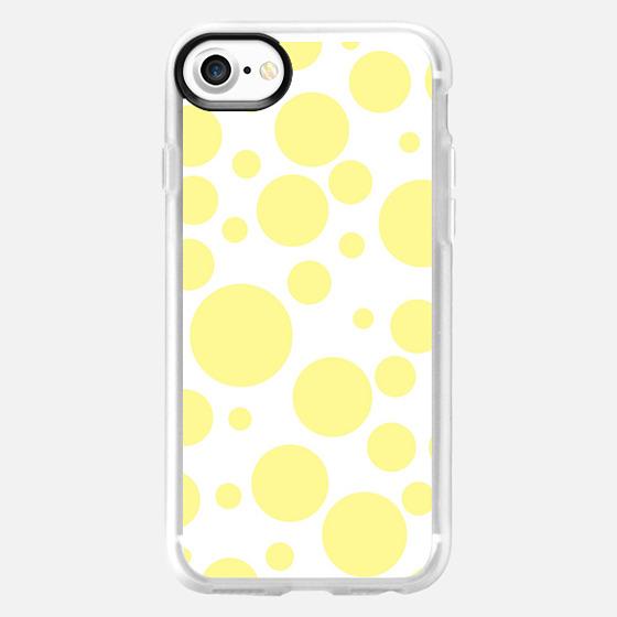 yellow polka dots - Wallet Case
