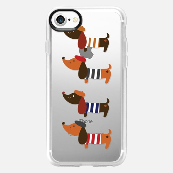 Sausage Dogs - Wallet Case