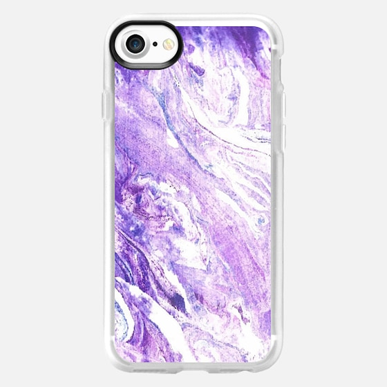 Watercolor marble background case -