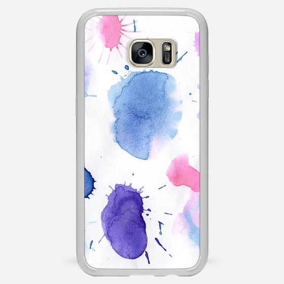 Watercolor grunge painting case - Classic Snap Case