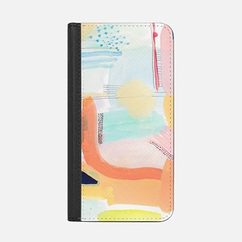iPhone Wallet Case -  Takko Painting Case