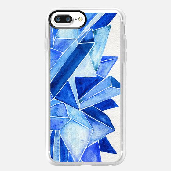 Sapphire Watercolor -