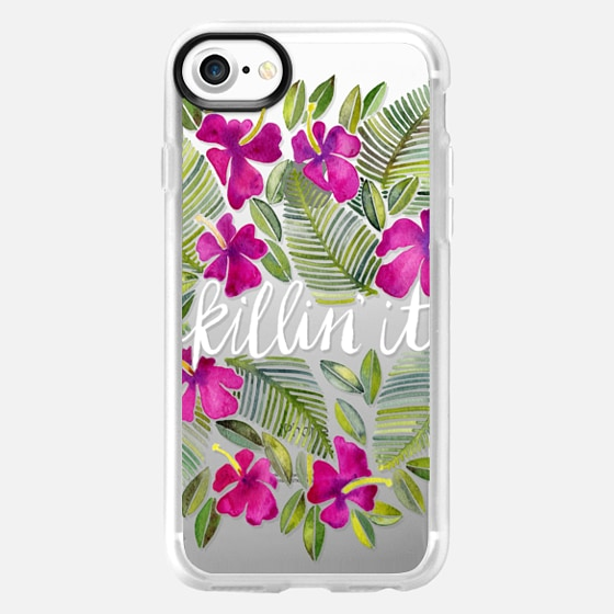 Killin' It – Tropical Pink on Transparent - Wallet Case