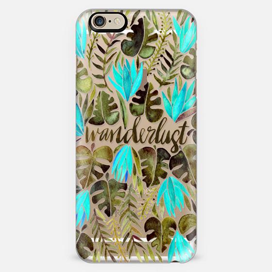 Tropical Wanderlust – Turquoise & Transparent -