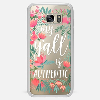 Samsung Galaxy S7 Edge เคส My Y'all is Authentic by CatCoq