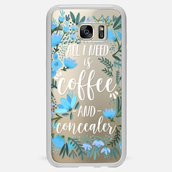 Samsung Galaxy S7 Edge เคส Coffee & Concealer by CatCoq
