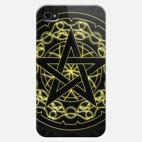 Pentagram celtic -