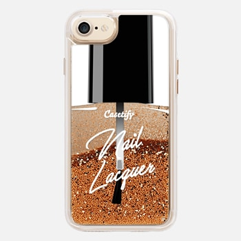 iPhone 7 ケース Glitter Nail Lacquer