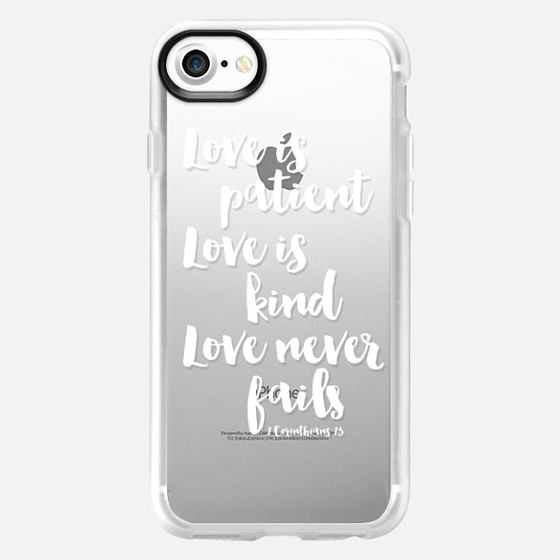 Love is... (white text) - Wallet Case