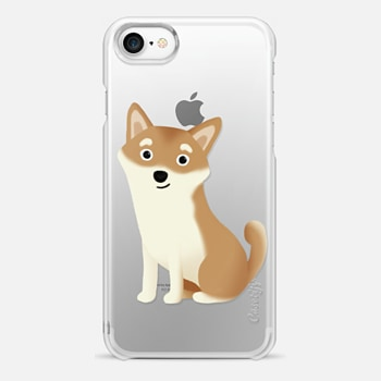 iPhone 7 Case Shiba Inu Dog (Clear)