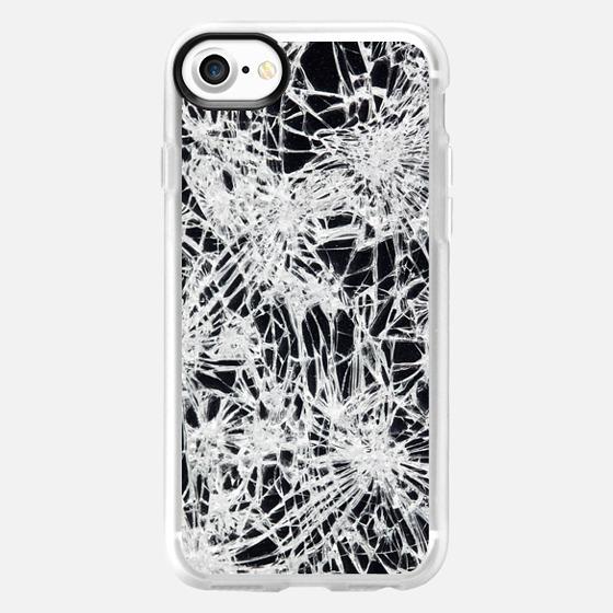 Broken glass -