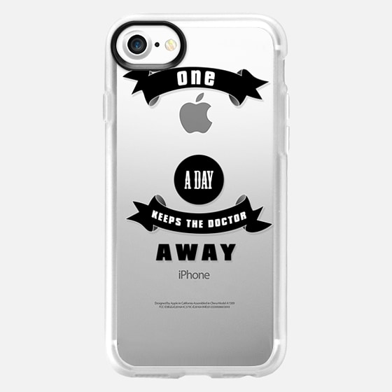 One apple a day keeps the doctor away - for 6 /6 plus / 5c - Wallet Case