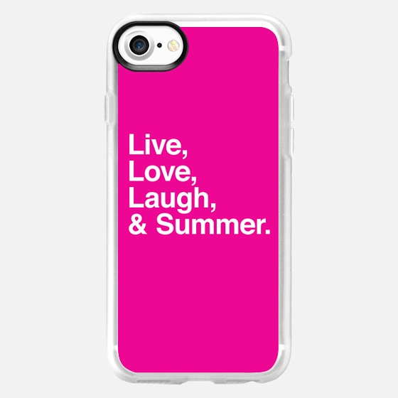 Live love laugh and summer - Wallet Case