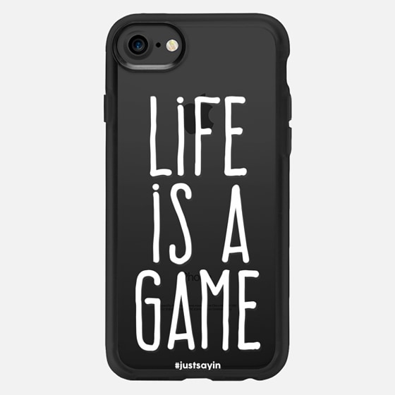 Life is a game - Classic Grip Case