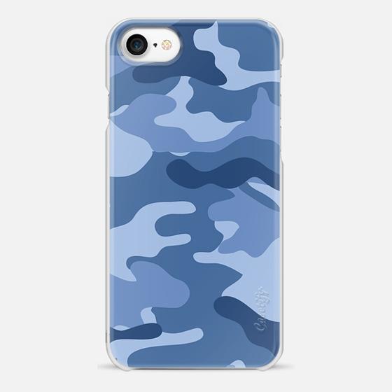 Camo light blue - Snap Case