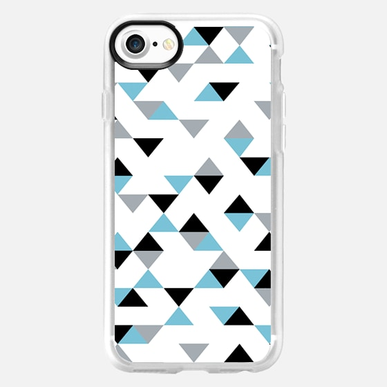 Triangles Ice Blue -