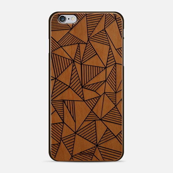 Abstraction Lines - Classic Snap Case