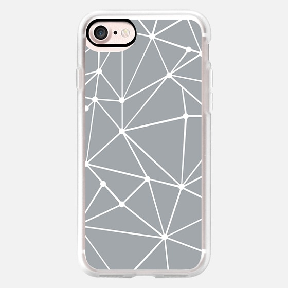 Ab Out with Dots Grey -