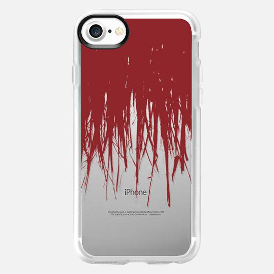 Fringe Red Transparent - Classic Grip Case