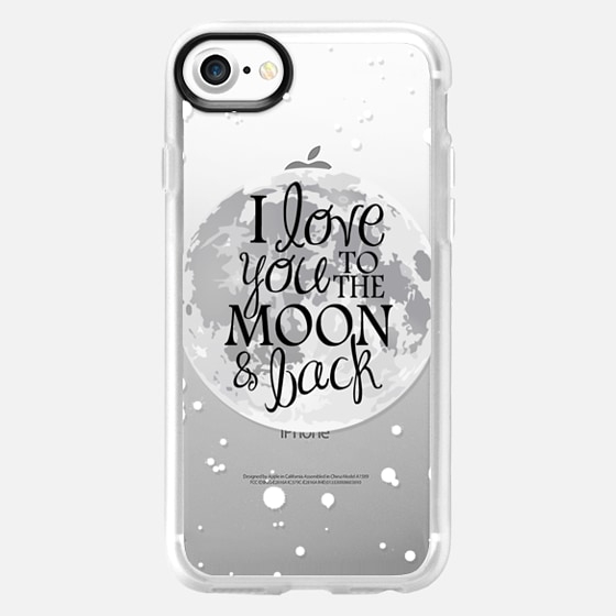 To the Moon and Back - Wallet Case