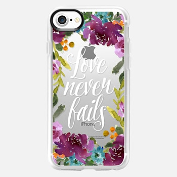 iPhone 7 Case Love Never Fails