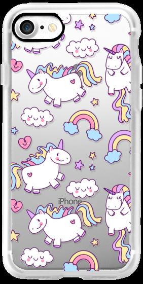 Unicorns & Rainbows - Clear