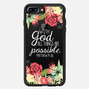 iPhone 7 Plus Case All Things are Possible