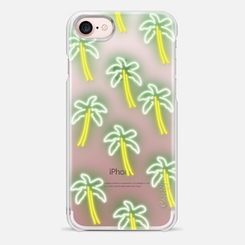 iPhone 7 Case Neon Palm Trees
