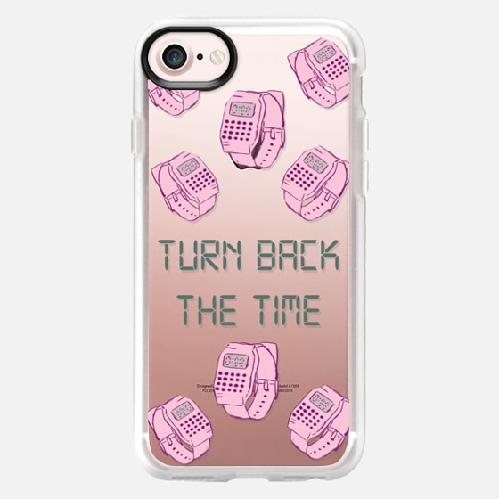Turn Back the time - Wallet Case