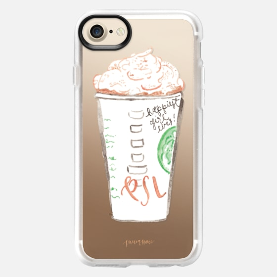 Pumpkin Spice Latte Illustration by Simply Jessica Marie - Snap Case
