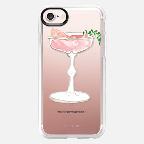 Pink Grapefruit Martini Cocktail by Simply Jessica Marie - Snap Case