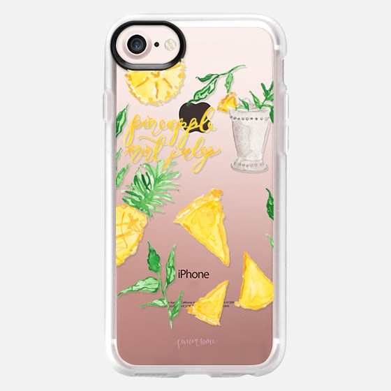 Pineapple Mint Julep by Simply Jessica Marie - Snap Case
