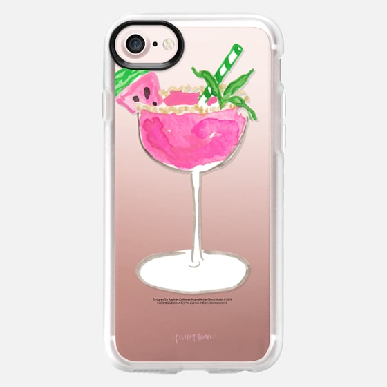 Watermelon Mint Margarita by Simply Jessica Marie - Snap Case