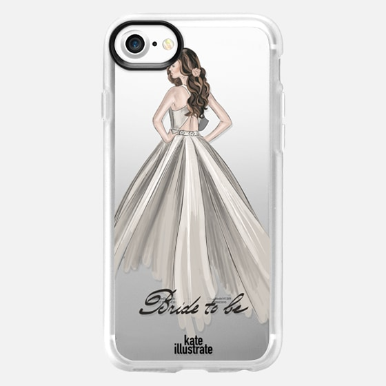 Bride To Be (Transparent)  - Snap Case