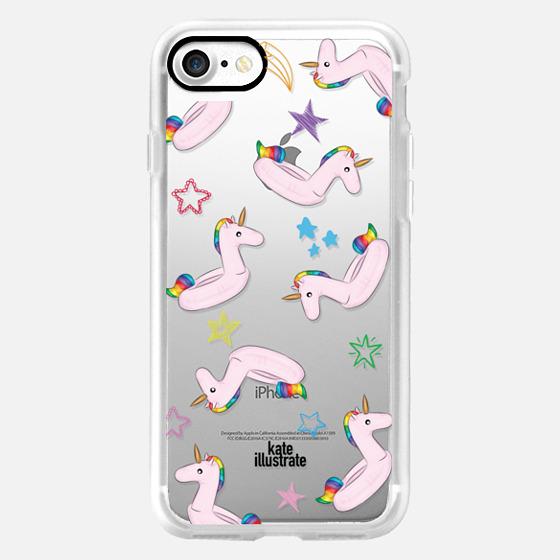 Pink Unicorn Float - Snap Case