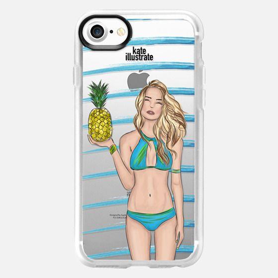 Malibu Glow (Blonde Option) - Snap Case