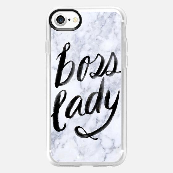 Boss Lady Marble by EttaVee - Wallet Case